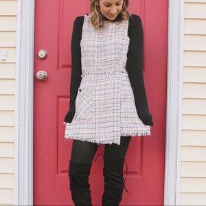 Zara tweed jumpsuit